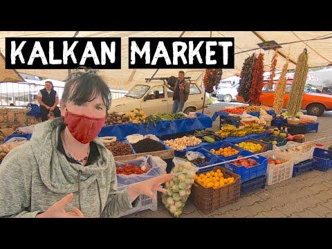 KALKAN Market - Turkey's Turquoise coast road trip to KAS
