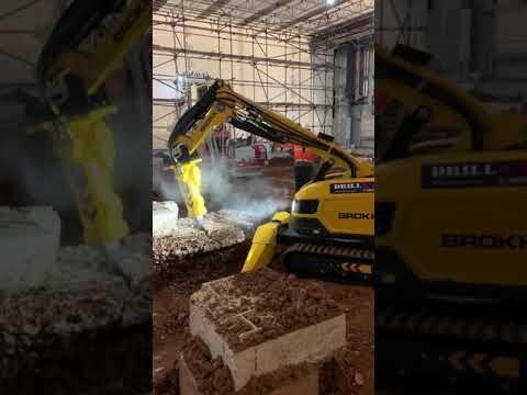 Brokk 200 Remote Controlled Demolition Machine