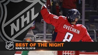 Ovechkin joins elite company, Vesey gets hat trick