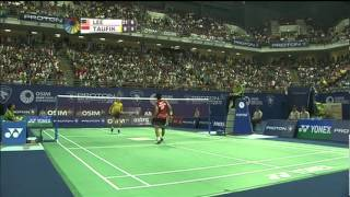 Download Video F - MS - Lee Chong Wei vs Taufik Hidayat - 2011 Proton Malaysia Open MP3 3GP MP4