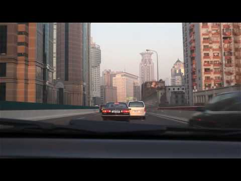 Driving in Shanghai 720P HD