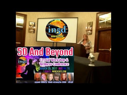 Michelle Walling At The 5d And Beyond Conference Austin