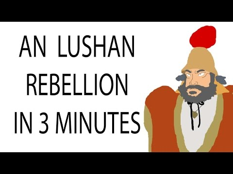 An Lushan Rebellion | 3 Minute History