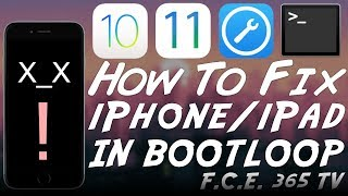 How to Fix iPhone / iPad in Recovery Mode / White Screen / Black Screen / Bootloop