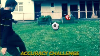 FOOTBALL ACCURACY CHALLENGE *EXTREME FORFEIT 🌶*
