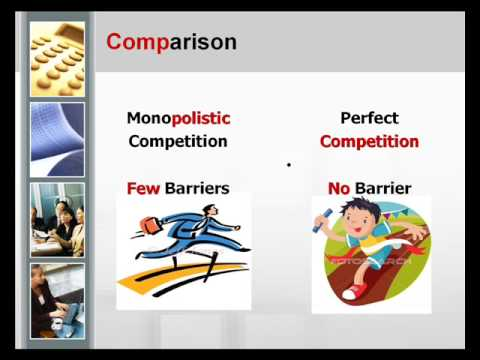 perfect vs monopolistic competition market structures
