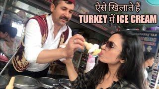 Turkey ICE CREAM Magic Show | Garima