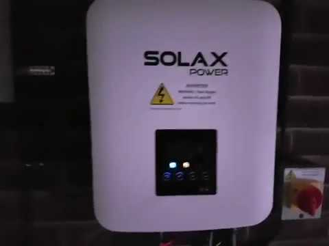 SolaX PV System (X1 Boost, X1-AC & Triple Power Battery) - Initial Review