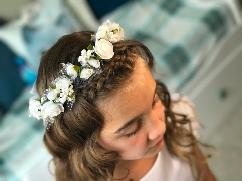Fryzura Komunijna Nr 1 First Communion Hairstyle 1