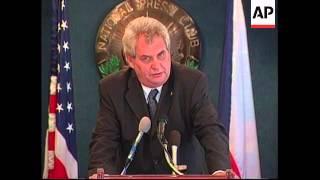Czech PM visits Bush at White House