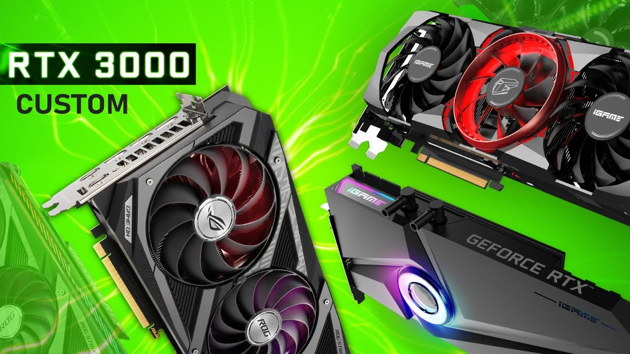 Download These Custom RTX 3080, RTX 3070, RTX 3090 Cards Look AMAZING!
