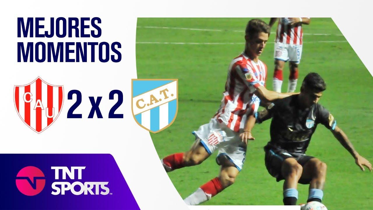Resumen de Unión SF vs Atlético Tucumán (2-2) | Zona B - F 1 - Copa LPF 2021