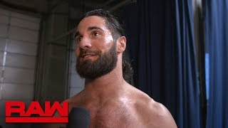 Seth Rollins is riding momentum into the Men's Royal Rumble Match: Raw Exclusive, Jan. 21, 2019