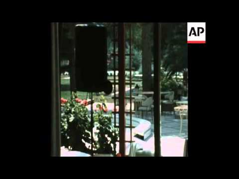 SYND 21 7 74 SCENES AT LEDRA HOTEL DURING TURKISH INVASION