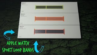 Apple Watch Sport Loop Band Unboxing & Review