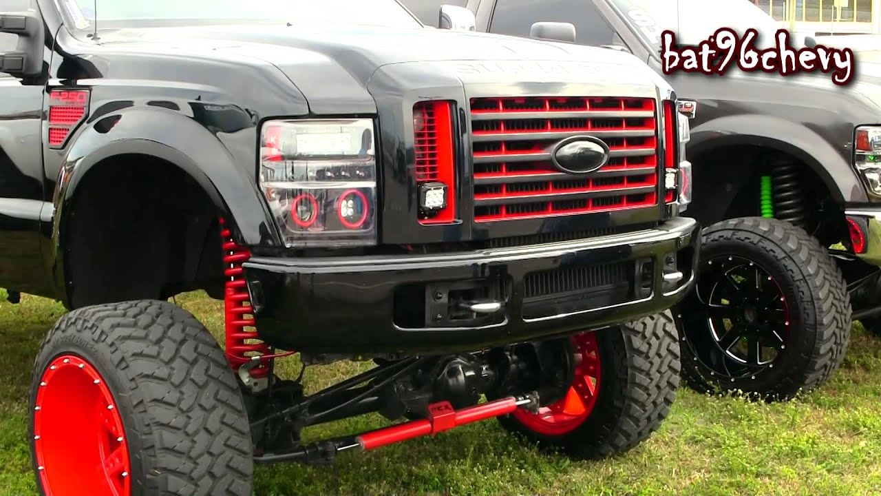 Blackred 2012 ford f 250 truck w 12 lift on 24 mud grappler blackred 2012 ford f 250 truck w 12 lift on 24 mud grappler youtube sciox Images