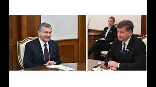 Президент Шавкат Мирзиёев 14 декабря провел встречу с генеральным директором МОТ Гаем Райдером