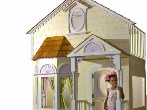 Girls Canopy Beds  Girls Princess Beds Girls Castle Bed  Girls Princess Rooms Decor  YouTube