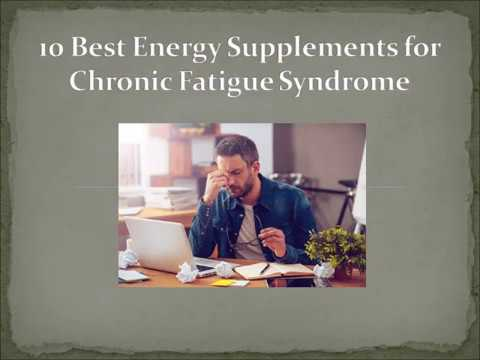 10 Best Energy Supplements for Chronic Fatigue - Dietary supplements