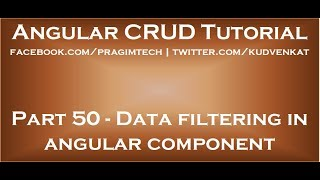 Veri açısal bileşeni filtreleme