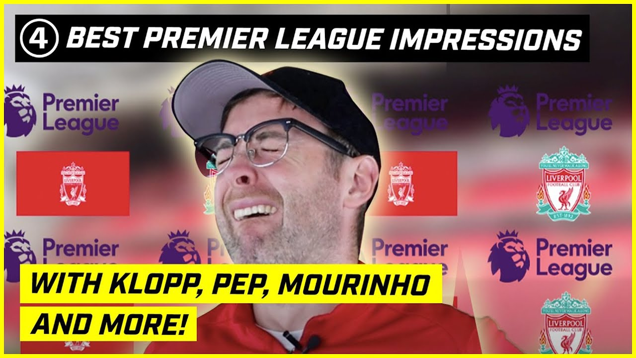 The Funniest Impressions!  Premier League Review with Klopp, Pep, Mourinho & More! Feat Conor Moore