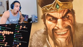Tyler1 Reacts to Awaken (Draven Included) - League of Legends Cinematic