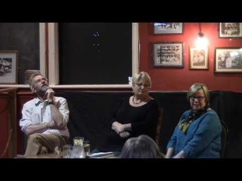 Jodi Taylor & Jasper Fforde in conversation at Llandeilo Lit Fest (2017)