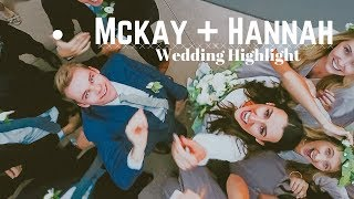 The WHOLE WEDDING ended up in the POOL!?? || Mckay + Hannah