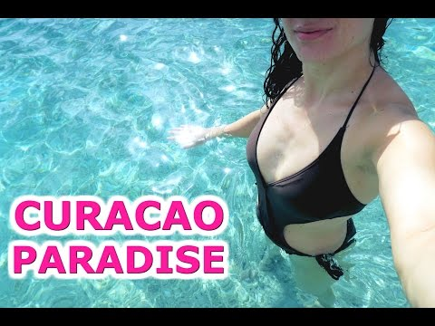 MOST BEAUTIFUL BEACH ON EARTH - TRAVEL VLOG 319 CURACAO | ENTERPRISEME TV
