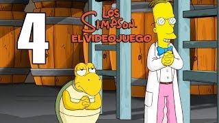 Los Simpson El videojuego Parte 4 Español Gameplay Walkthrough Xbox360/PS3