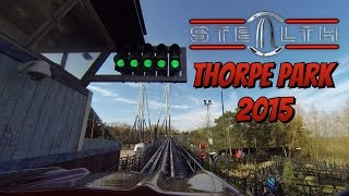 Thorpe Park 2015 preview: STEALTH Front & Back row POV