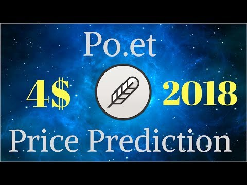 Po.et Price Prediction - Po.et Coin Review 2018 (Crypto With Most Potential)