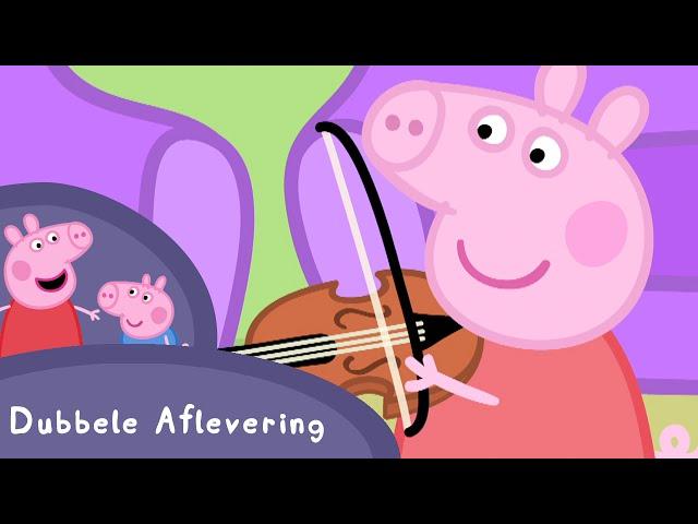 Peppa Pig Nederlands | S01 E15-16 (Picknicken / Muziekinstrumenten) #PeppaPigNederlands