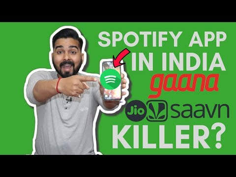 Spotify App in India! | How to use and Features! Mp3
