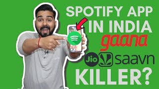 Spotify App in India! How to use and Features!