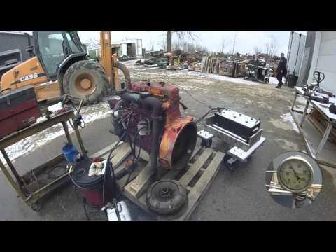 CASE G188D COMPLETE ENGINE CS188DEC 7510115GN YouTube
