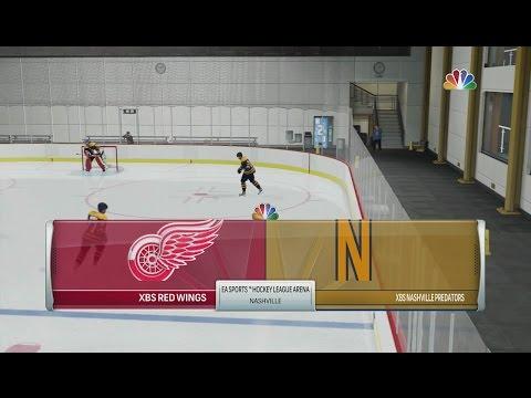 NHL 17 - 6v6 OTP League (XBSHL) Nashville Predators vs Detroit Red Wings