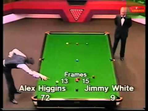 Jimmy White vs Alex Higgins - 1982 WSC  Frames 25 to 31