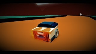 """Roblox- Hot Wheels Acceleracers- passing """"The Ultimate Race"""" with the """"Dora"""" xD"""