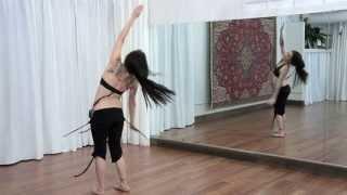 Zoe Jakes: Belly Rolls, Flutters + Spins