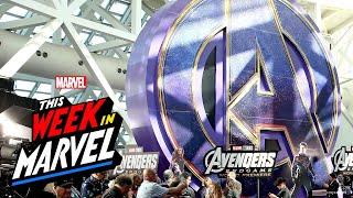 Marvel Studios' Avengers: Endgame World Premiere with This Week in Marvel