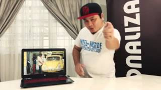 HP Omen 2017 Review - GTX1050 4GB DDR5