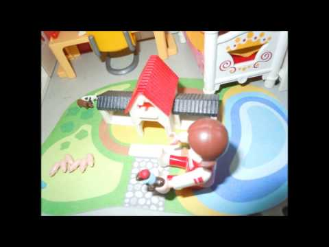 Playmobil maison moderne youtube for Maison moderne playmobil