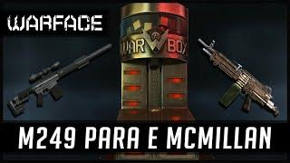 Warface Peguei a M249 Para e MCMillan =)
