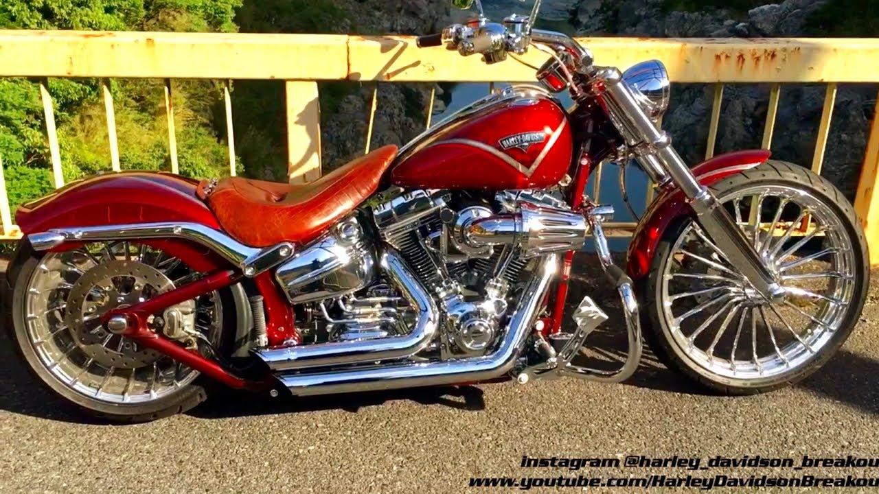 Harley-Davidson Breakout CVO Exhaust Sound (Shun from Japan 🇯🇵)