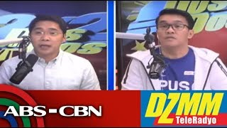 DZMM TeleRadyo: Bong Go airs side on viral relief goods