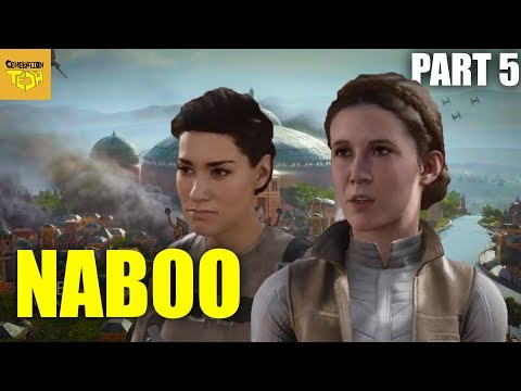 Star Wars Battlefront II Story | Part 5 NABOO