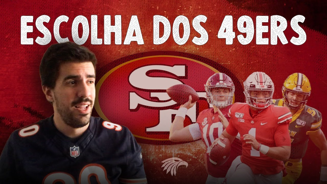 QUAL QUARTERBACK OS 49ERS VÃO ESCOLHER NO DRAFT DA NFL?