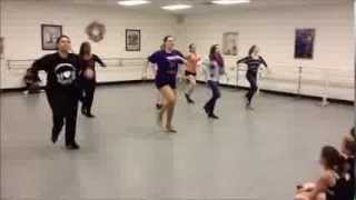 Cups Tap Dance (One Take)