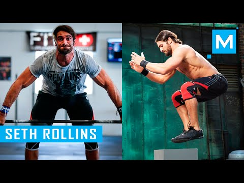 Seth Rollins Crossfit Training Workout for...